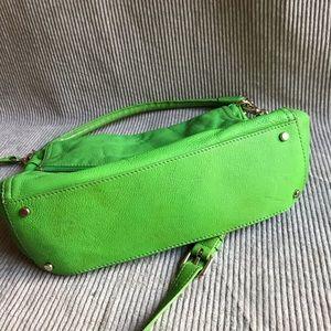 kate spade Bags - KATE SPADE lime green bag pebbled leather purse
